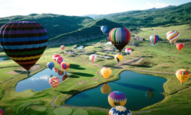 Hot air balloon Hidalgo